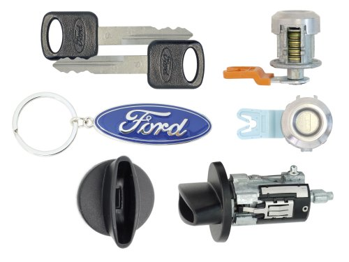 Ford 2006 F250 SuperDuty Pick Up - Ignition Cylinder & 2 Door Locks w/Keys
