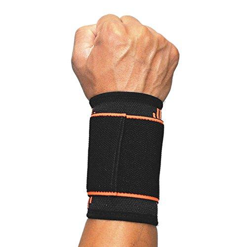 SOFIT Supporto per il Polso, Supporto per Polso con Bendaggi Elastici per Sollevamento Pesi, Tennis,...