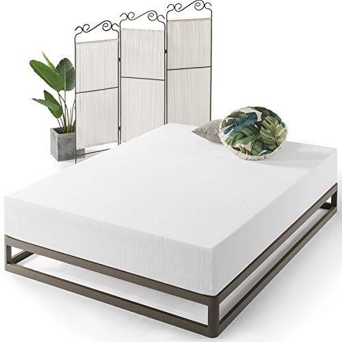 Best Price Mattress Queen Mattress - 12 Inch Air Flow Memory Foam Bed Mattresses Infused with Green Tea, Queen Size , White
