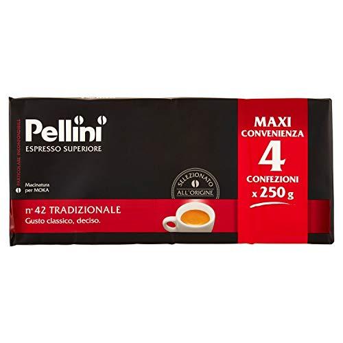 Pellini Caffè Moka N 42 Tradizionale, 1000 g