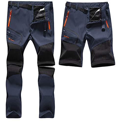 SANMIO Pantalon de Trekking Homme Pantalon Fonctionnel Pantalon Softshell...