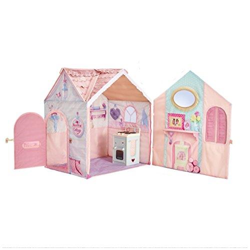 Worlds Apart DreamTown Rose Petal Cottage Spielhaus für Kinder mit Herd