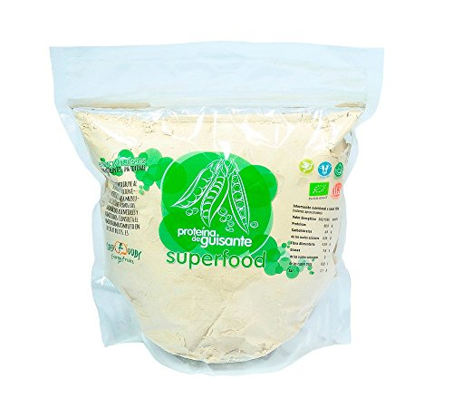 Proteína de Guisante Eco 1 Kg 82% Proteína Natural y Vegano sin Sabor