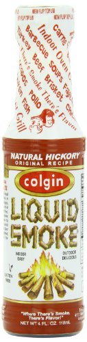 Colgin Liquid Smoke, Natural Hickory, 4-Ounce