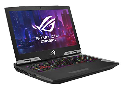 "ASUS ROG G703 17.3"" FHD 144Hz Gaming Laptop RTX 2080 8GB Graphics (Core i9-9980HK 9th Gen/32GB RAM/1TB SSHD + 3X 512GB PCIe SSD/Windows 10 Professional/Aluminum/4.70 Kg), G703GXR-EV078R 4"