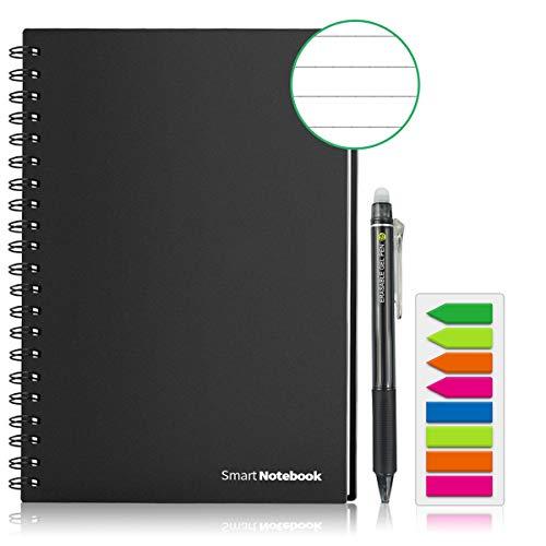 GUYUCOM Cuaderno Digital, Cuaderno Reutilizable Inteligente A5...