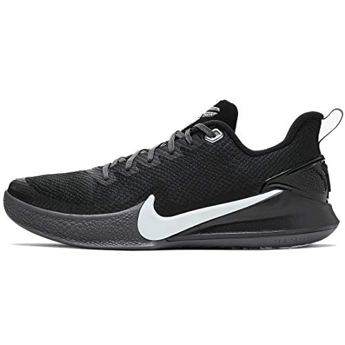 Nike Kobe Mamba Focus Basketball Shoes, (Black/Grey, Size 8 M US)