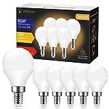 Ampoules LED E14 G45/P45, JandCase 6W ampoule économique, équivalent...
