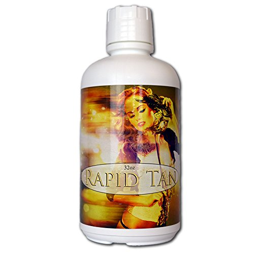 Rapid Tan Bronze Sunless Airbrush Spray Tanning Solution 32oz