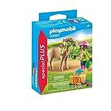 PLAYMOBIL- Special Plus Especial Niña con Pony, Multicolor (70060)