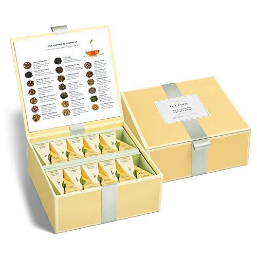 Tea Forte Organic Assorted Variety Tea Sampler,...