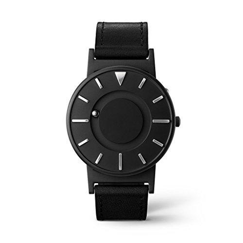 Eone Bradley x Dezeen Watch Black Leather Band