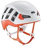 PETZL Unisex - Casco Meteor Adulto, Color Rojo y Naranja, tamaño Talla Media/Grande