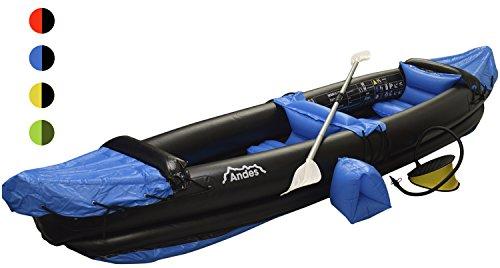 Andes - Kayak avec pagaie - deux personnes -...