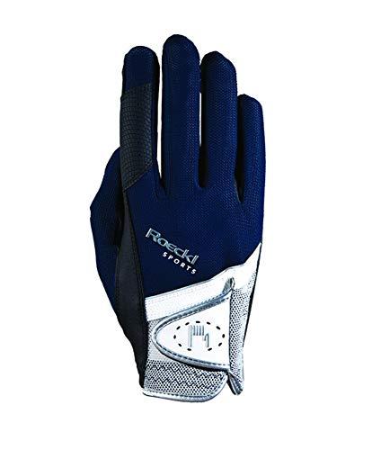 Roeckl Sports Handschuh Madrid, Unisex Reithandschuh, Marine, Größe 8