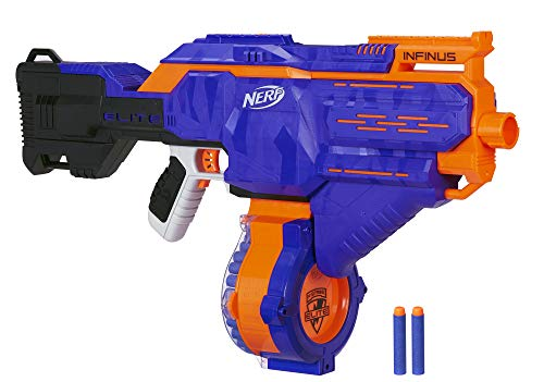 Hasbro Nerf E0438EU4 Infinus, Blaster giocattolo, Blu/Arancione