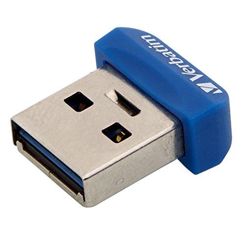 Verbatim 98711  Nano Store n Stay 64GB Speicherstick USB 3.0 blau