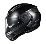 オージーケーカブト(OGK KABUTO)バイクヘルメット システム RYUKI ブラックメタリック (サイズ:L)