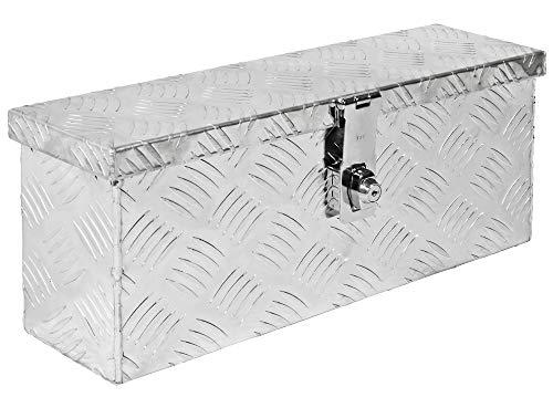 Alumium Truckbox Box Anhängerbox Alubox Deichselbox 15 Größen Trucky, Modell:D015 (50 x 14 x 20 cm)