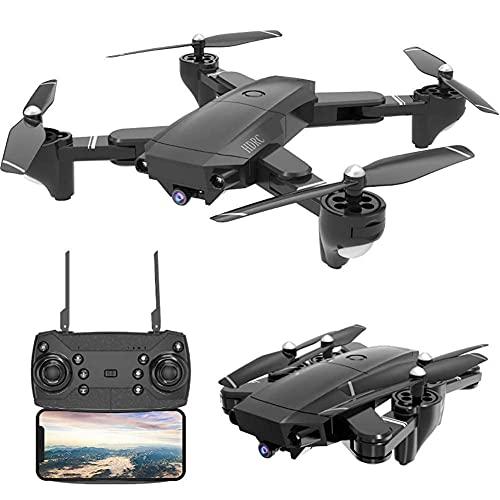 GPS FPV RC Drone HS100, con videocamera HD Live Video e GPS Return Home, Grande quadricottero con videocamera grandangolare Regolabile, Follow Me, 18 Minuti di Volo
