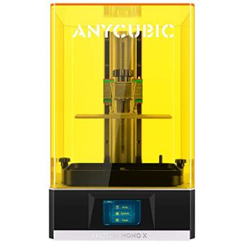 """ANYCUBIC Photon Mono X 3D Resin Printer, Large Resin 3D Printer with 8.9"""" 4K Monochrome LCD, Large Build Volume 192mm(L) x120mm(W) x245mm(H)"""