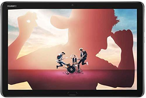 HUAWEI MediaPad M5 lite 10 Wi-Fi Tablette Tactile 10.1' Gris (64Go, 4Go de RAM, Android 8.0, Bluetooth, Quatre haut-parleurs)