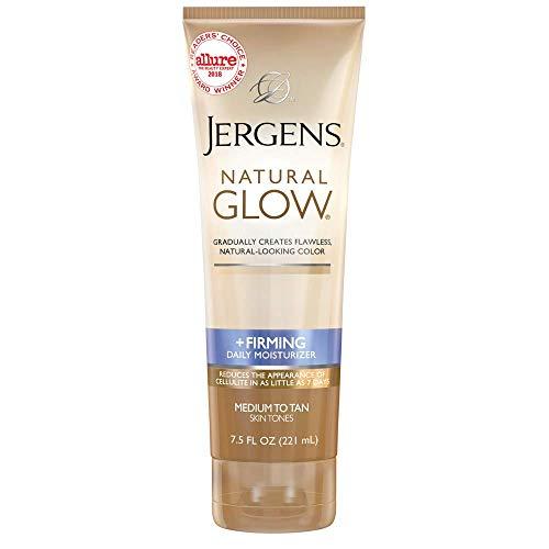 Jergens Natural Glow + Firming Daily Moisturizer Medium to Tan Skin Tones 7.5oz