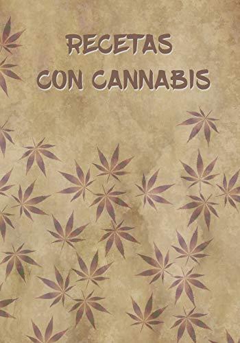 RECETAS CON CANNABIS: CUADERNO DE RECETAS. 100 FICHAS PARA ELBAORAR TUS PROPIAS RECETAS DE COCINA CON MARIHUANA.REGALO ORIGINAL.