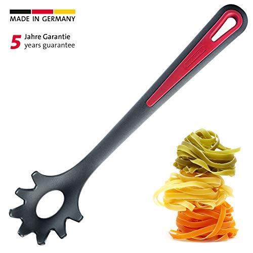 Westmark Spaghettilöffel/Pasta-Schöpflöffel, Kunststoff, Länge: 30,5 cm, Gallant, Schwarz/Rot, 29602270
