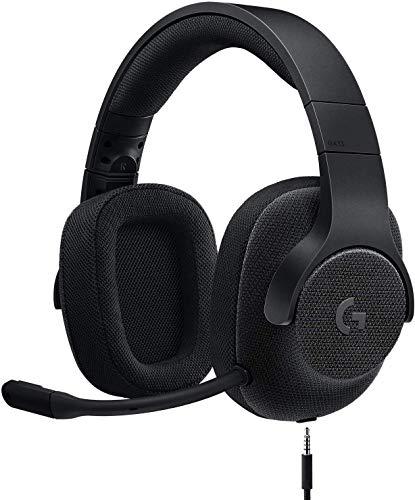 Logicool G ゲーミングヘッドセット G433BK ブラック Dolby 7.1ch ノイズキャンセリング マイク 付き PC PS...