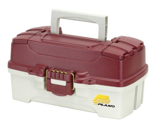 Plano 620106 - Scatole per attrezzatura da pesca, unisex, colore: Rosso metallico/bianco sporco, taglia unica