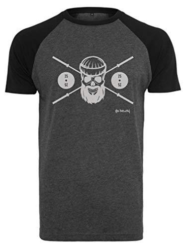 GO HEAVY Camiseta de Entrenamiento de béisbol de Manga Corta para...