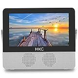 HKC P7H6 Mini TV Portable (TV HD 7 Pouces) HDMI + USB, 60Hz, Lecteur...