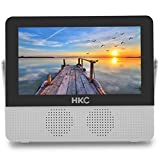 HKC P7H6 Mini TV portátil (TV HD de 7 Pulgadas) HDMI + USB, 60Hz, Reproductor...