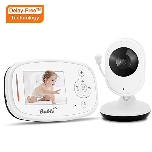 Bable Baby Monitor X1-Plus with Delay-Free Technology and TFT LCD Screen