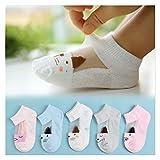 Calcetines 5 Pares/Lote New Summer Boys Girls Kids Socks Set 1-6Y Niños Niños...