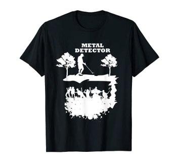 Détecteur de métaux lourds pour concert, musique, guitare - Cadeau T-Shirt