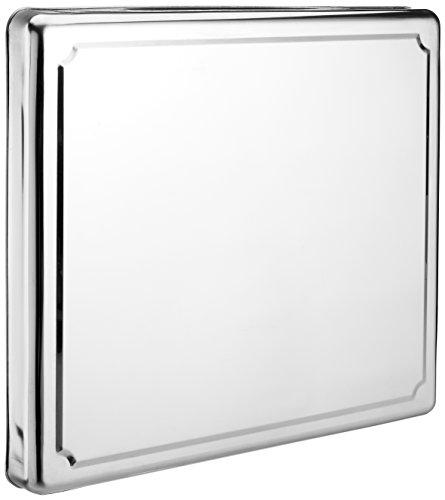 Jocca 6414- Copri piano cottura in acciaio inox, Argento, 60.5 x 52.5 x 5.5 cm