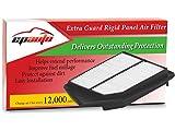EPAuto GP476 GP476 (CA11476) Extra Guard Rigid Panel Air Filter Replacement for Honda Accord L4 Gas (2013-2017), TLX L4 (2015-2017)