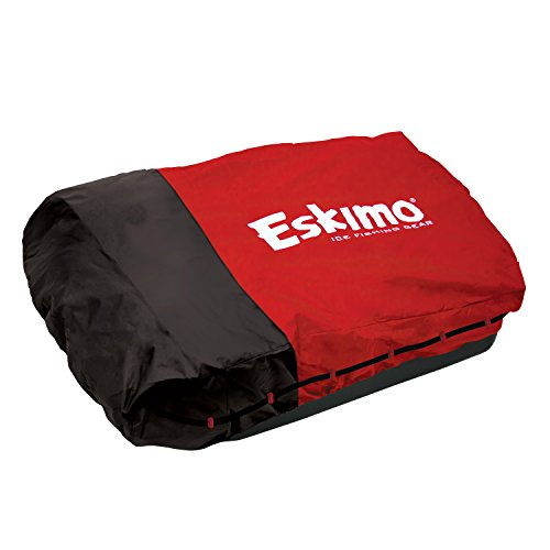 Eskimo 70-Inch Deluxe Ice Fishing Sled Shelter