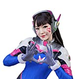Ajpicture OW D.Va Gloves Cosplay Props Costume Accessories
