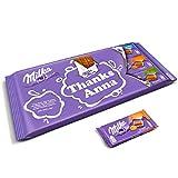 Mega Milka Schokoladentafel personalisiert mit einem Namen und Botschaft - Personalisiertes XL Mega Milka Schokoladengeschenk mit 9 Schokoladentafeln in den leckersten Geschmackssorten