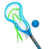 Franklin Sports Mini Pro Style 34in Lacrosse Stick & Lacrosse Ball Set - Learn to Play - Perfect for Beginner Stick Handling and Lacrosse Training