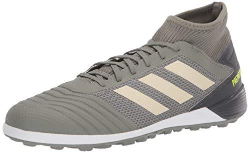 adidas Men's Predator 19.3 TF Football Shoe, legacy green/sand/Solar Yellow, 7.5 Standard US Width US