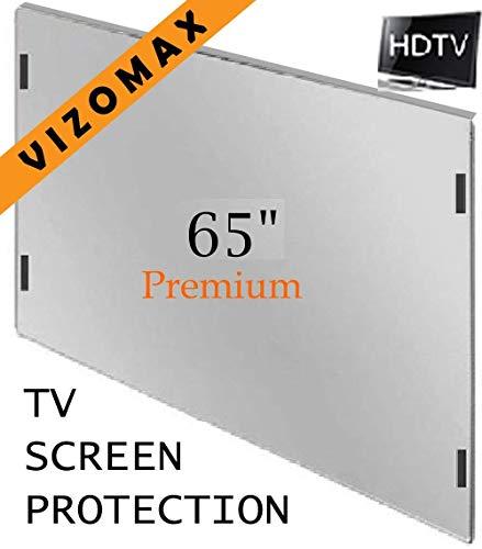 65 inch Vizomax TV Screen Protector for LCD, LED, OLED & QLED 4K HDTV Display