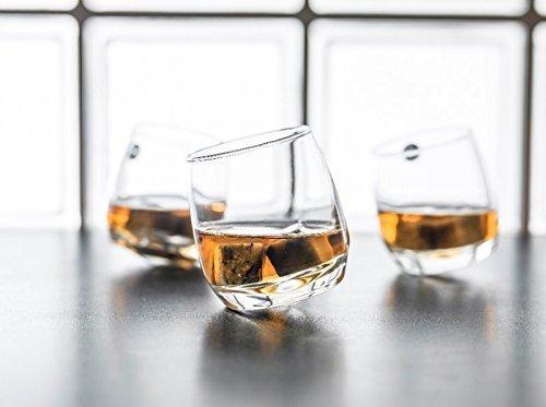 Gravidus 6 x Bar Rocking Whiskey Glass   Ronde bodem 200 ml