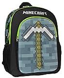 Minecraft Backpack 16' 3D Molded Pickaxe School Bag
