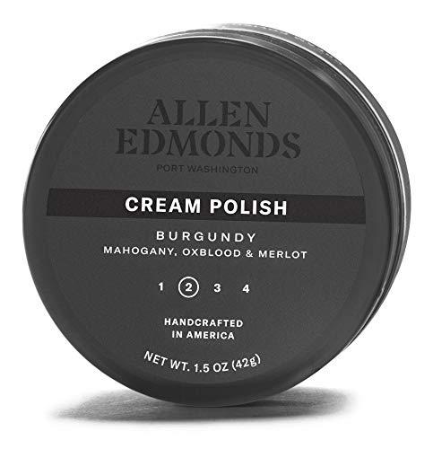 Allen Edmonds Men's Cream Polish Shoe, Burgundy, One Size 0X US