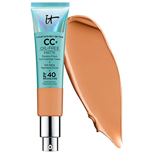 Your Skin But Better CC Cream Oil-Free Matte with SPF 40 - Tan