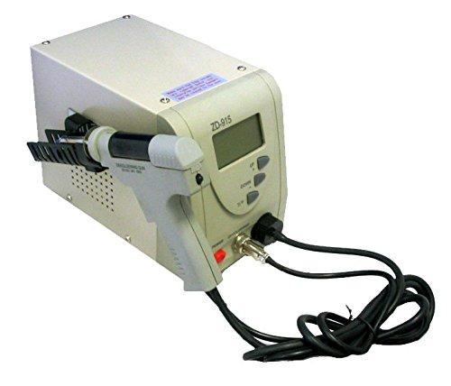 edi-tronic Digitale professionelle Entlötstation 80W ZD-915 Vakuumpumpe - digital